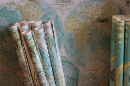 A picture of some maps
